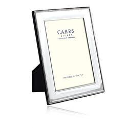 Carrs Zilveren Fotolijst Parelrand 18 X13
