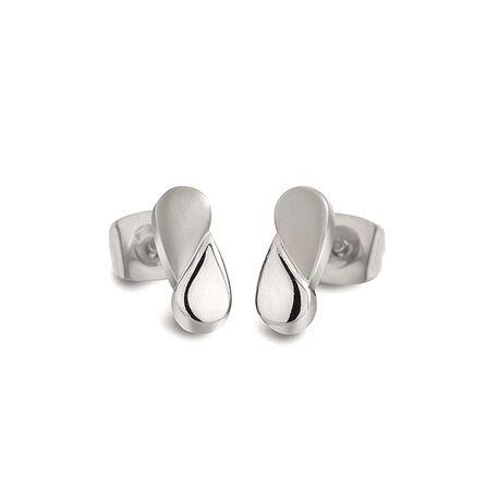 Boccia oorstekers druppels titanium 05021-01