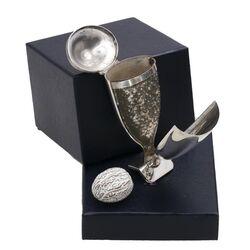 antieke zilveren nootmuskaatrasp vaasje van der dussen schoonhoven