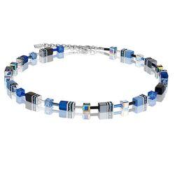 Coeur de Lion collier kobalt blauw