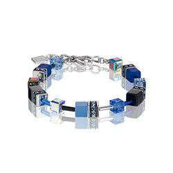 Coeur de Lion armband kobalt blauw