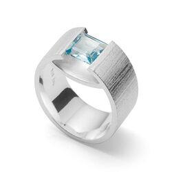 Bastian Inverun ring blauw topaas 35001