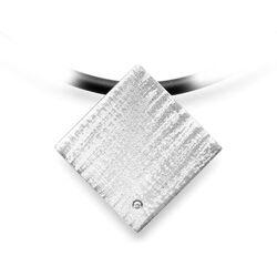 Bastian Inverun hanger vierkant diamantje 34901