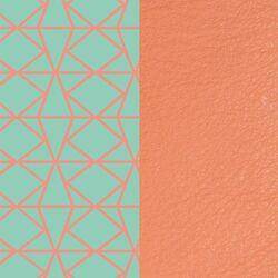 Les Georgettes 14 mm inlay ibiza zalm roze