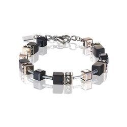Coeur de Lion armband zwart onyx met rosé