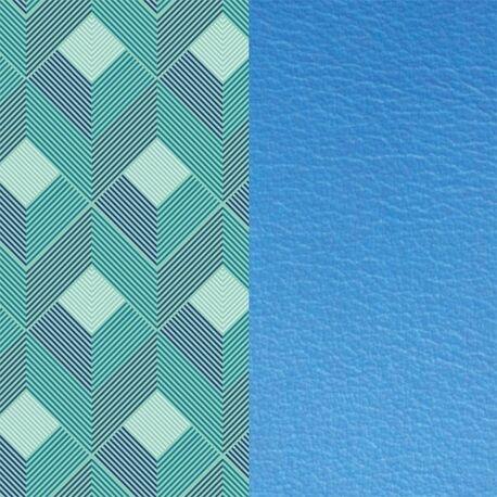 Les Georgettes 25 mm inlay lijnen korenbloem blauw