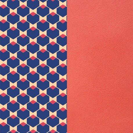 Les Georgettes 14 mm kubus patroon koraal