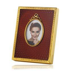 Maison Tatiana Fabergé verguld fotolijstje strik