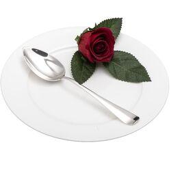 Dessertlepel Haags lofje 1927 zilver van Begeer