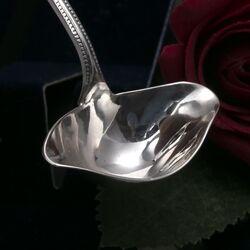 Roomlepeltje zilver in model luxe parelrand met 2 schenktuiten