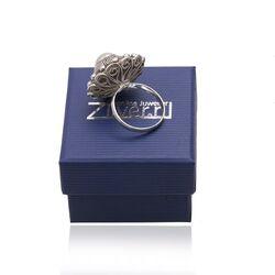 Zilveren ring zeeuwse knoop groot