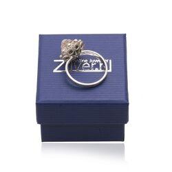 Antiek zilveren ring zeeuwse knoop
