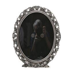 Oude Fotolijstje bol glas zilver Niekerk Schoonhoven
