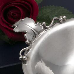 Zilveren schaaltje met bladmotief van Wilkens Brehmen