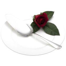 Zilveren taartschep model Haags lofje