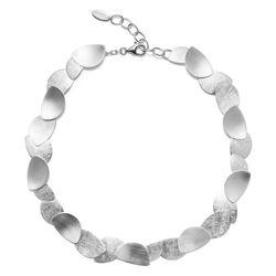 Bastian Inverun zilveren ketting bladeren 30101