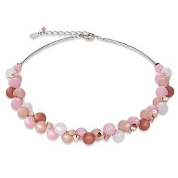 Coeur de Lion collier Polaris rosa-beige 4994-10-1910