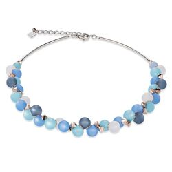 Coeur de Lion collier blauw Polaris 4994-10-0607