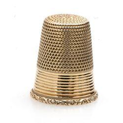 Hollandse gouden vingerhoed