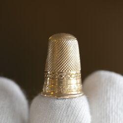 Gouden vingerhoed
