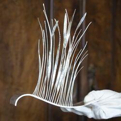 2 Zilveren kunstwerken van Anneke de Rond voor de Koninklijke Begeer