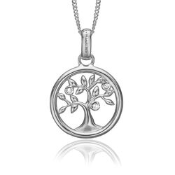 Christina zilveren hanger Tree of Life 680-S47