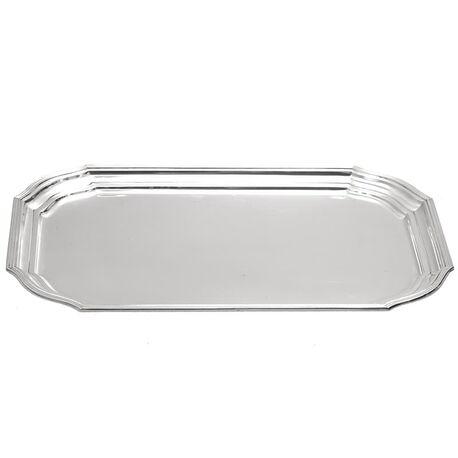 zilveren dienblaadje voor roomstel Versailles bolpas