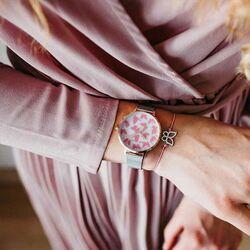 Julie Julsen horloge Moving Butterfly bicolor