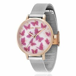 Julie Julsen horloge Moving Butterfly bicolor