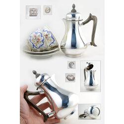 Zilveren koffiepotje model Jacobi