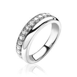 Zinzi zilveren multi look ring zirkonia ZIR1737