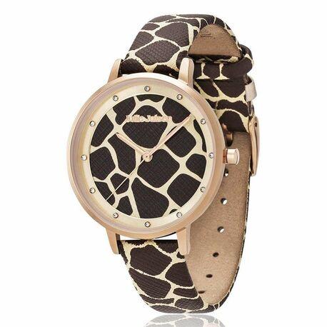 Julie Julsen Safari horloge Luipaard print