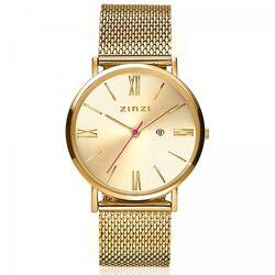 Zinzi Roman horloge goudkleurig 34mm
