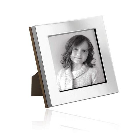 Vierkante zilveren fotolijst Carrs