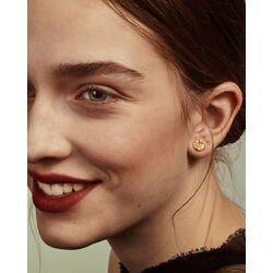 Gouden oorbellen Lapponia Swirls 132009