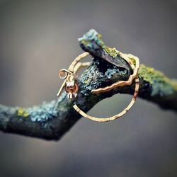 Lapponia Moonlit Eve gouden creolen132895