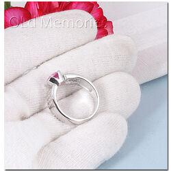 Zinzi ring roze zirkonia zir500r
