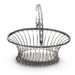 Antiek zilveren draadmandje anno 1784