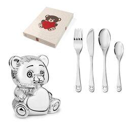 Cadeauset beer met hart
