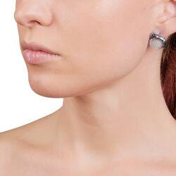 Luipaard oorstekers parels met zilver Giovanni Raspini 10846 Zilver.nl