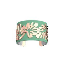 Les Georgettes 40 mm armband rosé monstera
