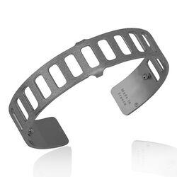 Les Georgettes Men gezwarte armband 14 mm Rythme