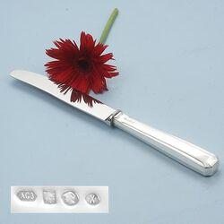 Dinermes zilveren heft model 4050 Ideaal 24 cm