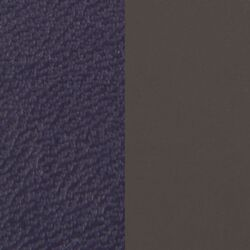 Les Georgettes 14 mm inlay anthracite denim