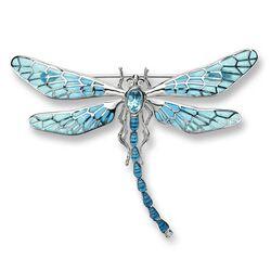 Nicole Barr broche libelle lichtblauw vensteremaille nb0143ya