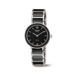 Boccia titanium horloge zwart keramiek 3311-02