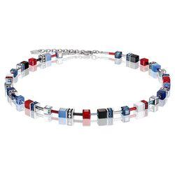 Coeur de Lion collier Multicolor blauw rood
