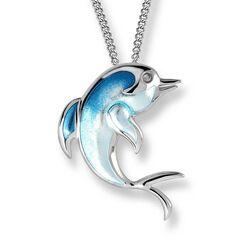 Nicole Barr zilveren hanger dolfijn