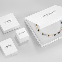 Coeur de Lion collier Medium Amethyst 5011-10-0824