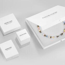 Coeur de Lion armband Medium Amethyst 5011-30-0824